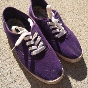 STEPS Purple Sneakers